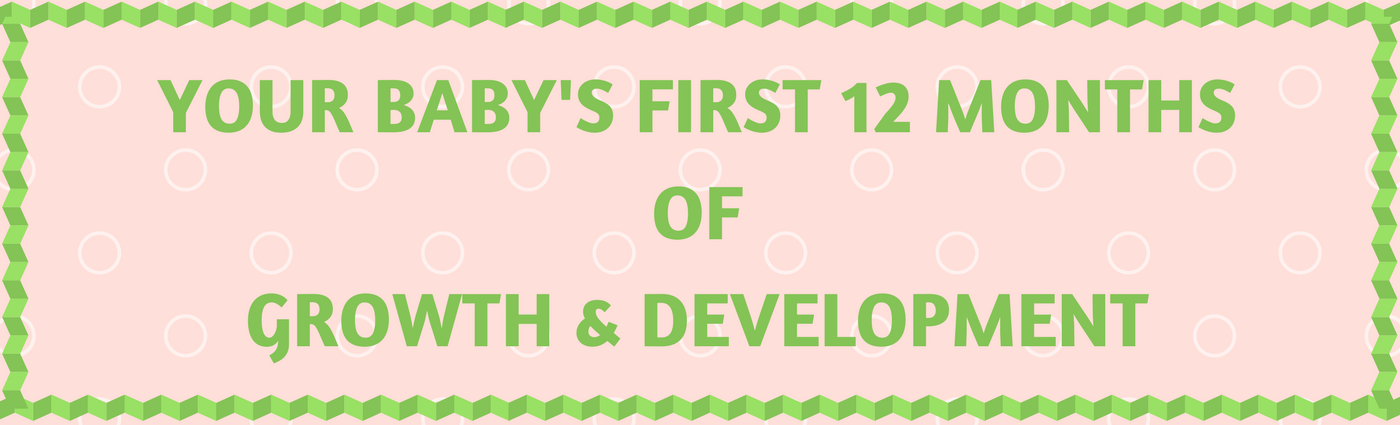 Your Baby's First 12 months of Growth & Development