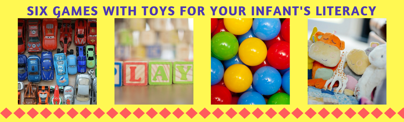 6 Games with Toys for Your Infant's Literacy