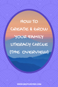 Series outline of creating & growing the family literacy circle